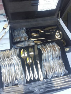 Beautiful golden cutlery