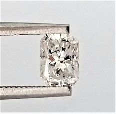 Radiant Cut  - 0.71 carat - D color -  VS1 clarity - Natural Loose Diamond - Comes With IGL Certificate + Laser Inscription On Girdle