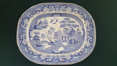 Early 20th century Staffordshire platter - Oriental Decoration