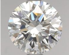 0.51ct Round Brilliant Diamond D IF IGI -Original image  3EX #461