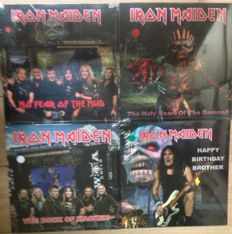 Great collection of Iron Maiden Live Recordings || New in fabric Sealing! || Colored Vinyl ||