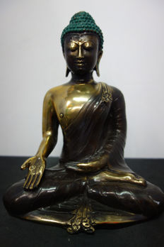 Bronze Buddha - Indonesia - late 20th century