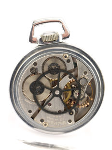 Waltham special edition model pocket watch, observation watch, military, 1940s