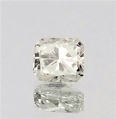 Radiant Cut  - 0.51 carat   -  D color - VS1 clarity - Natural Diamond - Comes With IGL Certificate + Laser Inscription On Girdle
