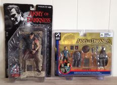 Army of Darkness/ Evil Dead - McFarlane/ Palisades - figures - Ash + Hero Ash & Deadite Scout