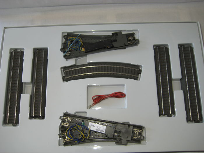 Märklin H0 - 24902 - Expansion set C2 Rails, with 2 switch drives