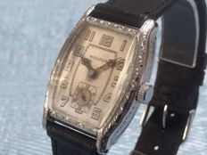 "BULOVA 'Templan"" Cal 10AN Adj Art Déco watch from 1930"