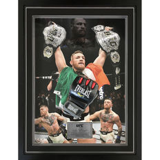 Signed Conor McGregor Glove Framed MMA UFC Glove
