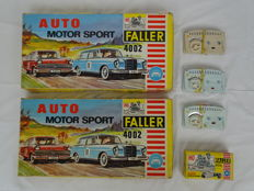 Faller - Scale 1/87 - Lot with 2 x Faller 4002 race course set - No.4002
