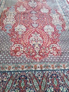 XXL Beautiful hand-knotted vintage Tabriz, 400 x 274 cm