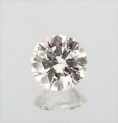Brilliant Cut Round Diamond 0.52 Carat - F color - VS2 clarity - IGL certified - Laser Inscription - Original Image