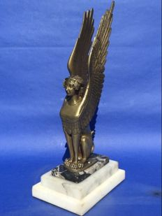 Empire style bronze Sphinx - France - early 20th century