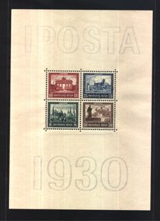 German Reich — Sheet — Michel catalogue number 1