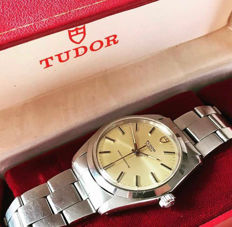 Tudor (Rolex) Oyster - Men's watch - Includes box and papers - 1976