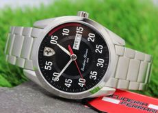 Scuderia Ferrari Mens Stainless Steel Watch - New & Perfect Condition