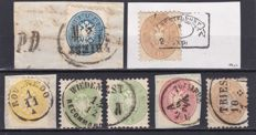 Austria 1858/1890 - a selection of General , Official and Newspaper stamps