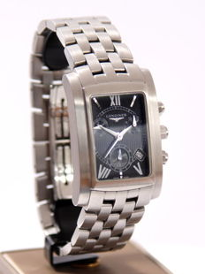 Men's Longines, Quartz Chronograph with Date, large Model