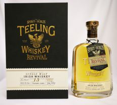 "Teeling 13 years old  ""The Revival"" Single Malt Irish Whiskey (Calvados barrels) 46%"
