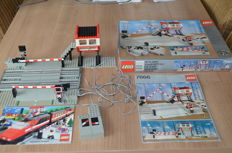 Trains - 7866-  Level Crossing With Electric Gates