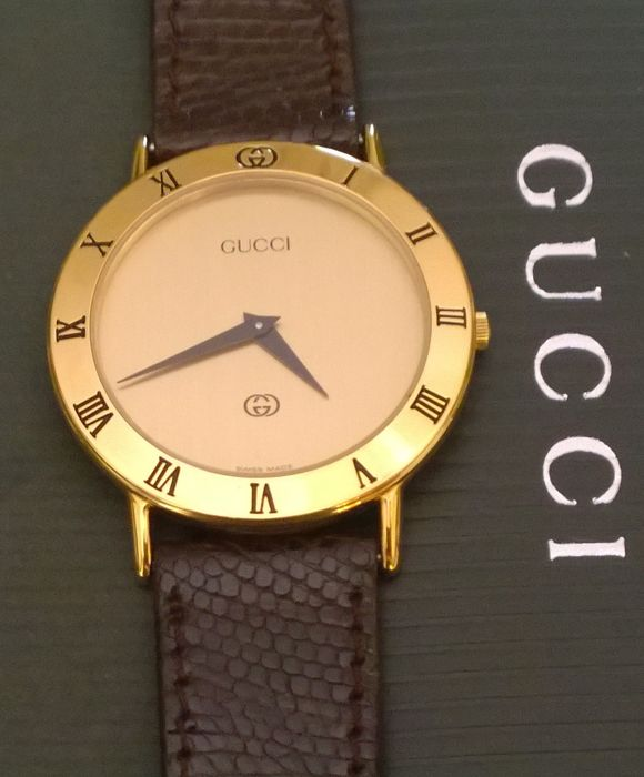 6b236212d31 Gucci 3000 M -- Very elegant men s watch -- Never worn -- Like new ...