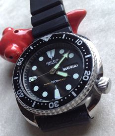 "SEIKO ""Turtle"" – Men's wristwatch for diving - Recently serviced"