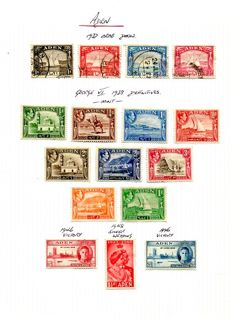 British Commonwealth Pre 1952 - A/Z collection on 91 album leaves