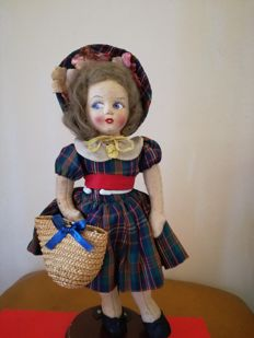 Felt doll  - Norah Wellings attr.
