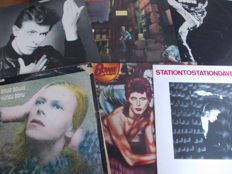 Nice Lot with 6 early David Bowie Albums