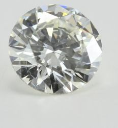 0.36 ct brilliant cut diamond E VS1, HRD certificate, 100% feedback