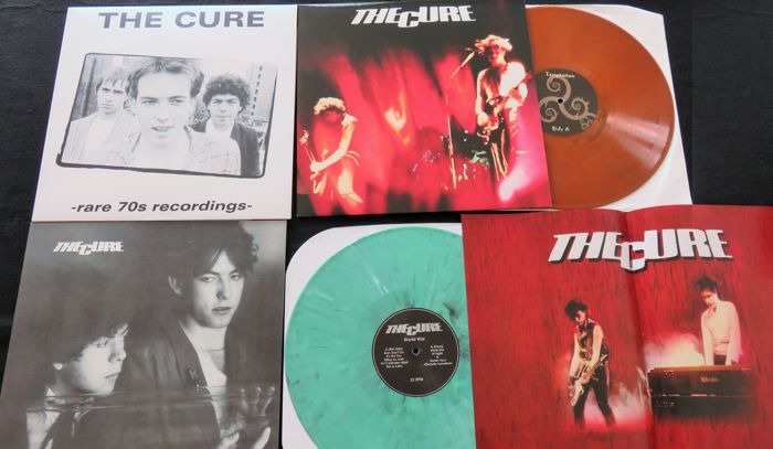 The Cure - Great lot of 3LP's, including 2x coloured vinyl