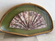Painting from the 1930s with 1800s fan