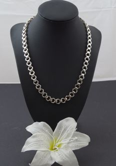 Silver 925 kt Disgn necklace - 49 cm