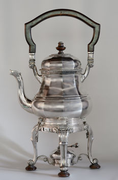 French samovar signed by Emile Puirforcat, 19th / 20th century