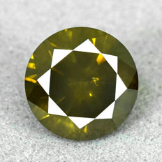 Beautiful brilliant cut diamond of 1.18 ct