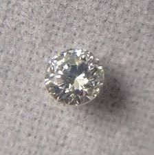 0.37 ct Brilliant cut diamond, I VS2, including HRD certificate, 100% feedback.