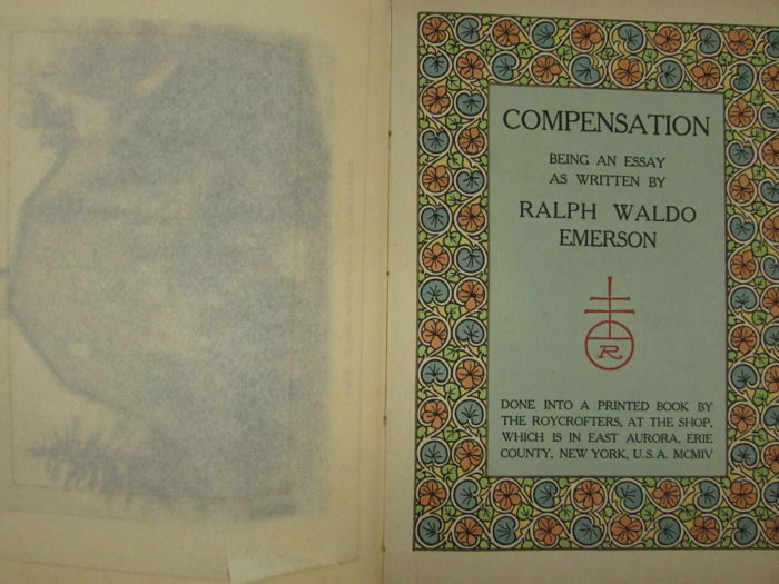 ralph waldo emerson in his essay compensation homework academic  ralph waldo emerson in his essay compensation emerson s essay on compensation has 18 ratings and 0