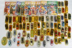Solido-Hachette - Scale 1/43 - Lot with 76 models and 9 automobile magazine