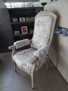 "Restored Voltaire in ""Shabby chic"" style - France - end of 19th century"