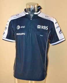 "AT&T Williams F1 Crew / Driver Shirt by McGregor ""Peter"" > Team Only !! (N.Hulkenberg / R.Barrichello)"