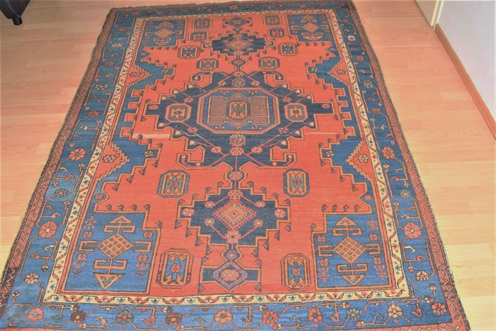 Antique Hamadan – 2nd half 20th century – 210 x 140 cm – with certificate of authenticity