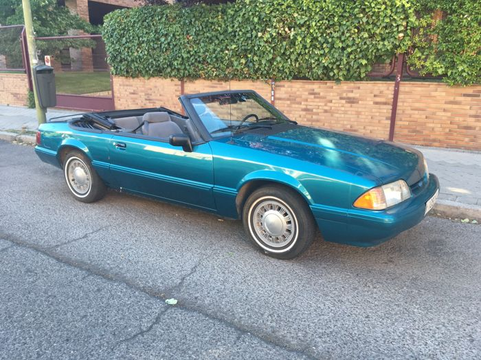 Ford - Mustang LX Cabrio - 1993