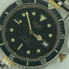 Heuer Professional 200 m. Reference  980.021, for gentlemen. Vintage Diver – Circa 1970/79