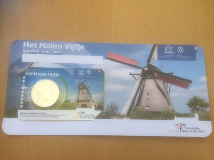 The Netherlands – 2013 through 2017 – Coin cards with Euro coins (16 pieces), FDC, BU, UNC and passe-partout