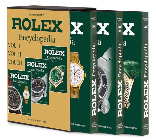 Rolex - Rolex Encyclopedia Book by Guido Mondani NEW - Unisex - 2011 - actualidad
