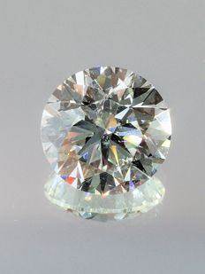 Brilliant Cut  - 1.40 carat  - F color  - VS2 clarity  - Natural Diamond  Comes With IGL Certificate + Laser Inscription On Girdle