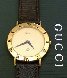 Gucci 3000 M -- Very elegant men's watch -- Never worn -- Like new