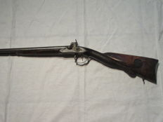 "Beautiful bourgeois rifle signed on plate ""Apury St Etienne"""