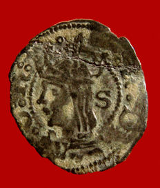 Spain – Ferdinand II King of Aragon (Ferdinand V), 1452-1516. Billon coin. Aragon. S.