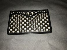 Alexander McQueen - limited edition skull leather cardholder