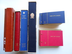 Great Britain, miscellaneous batch in seven books